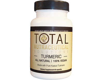 Total Nutraceutical Solutions Turmeric supplement Review