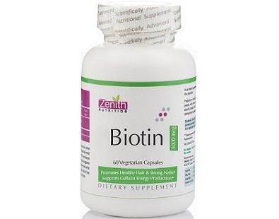 Zenith Nutrition Biotin