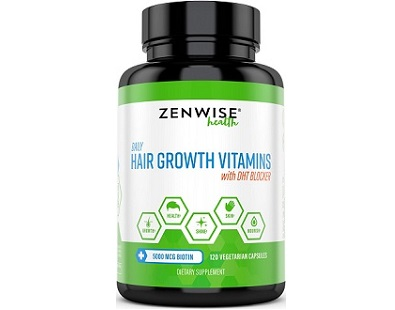 Zenwise Health Hair Growth Vitamins with DHT Blocker Review