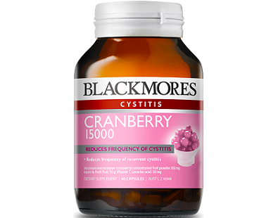 Blackmores Cranberry 15000 for Urinary Tract Infection