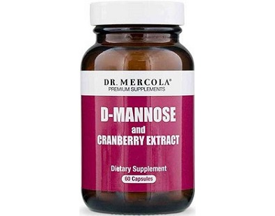 Dr. Mercola D-Mannose and Cranberry Extract for Urinary Tract Infection