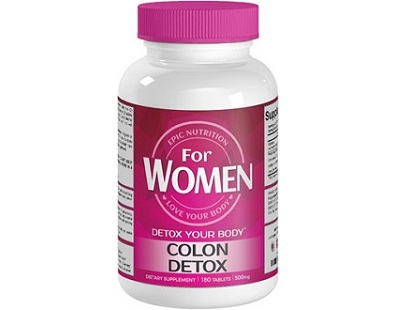 Epic Nutrition Colon Detox for Colon Cleanse