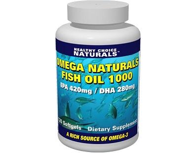Healthy Choice Naturals Omega Naturals Fish Oil 1000 Review