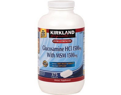 Kirkland Signature Glucosamine with MSM for Joints