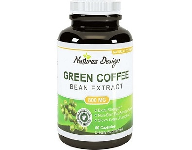 Natures Design Fat Burning Coffee Bean Extract Review