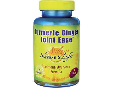 Nature's Life Turmeric Ginger Joint Ease for Joints