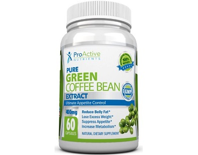 Proactive Nutrients Pure Green Coffee Bean Extract Review