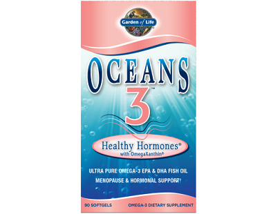 Garden of Life Oceans 3 Healthy Hormones Omega-3 for Menopause