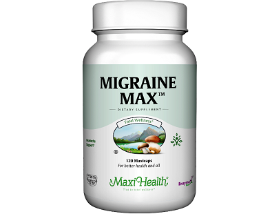 Maxi Health Migraine Max for Migraine Relief