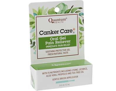 Quantum Health Canker Care for Canker Sore Relief