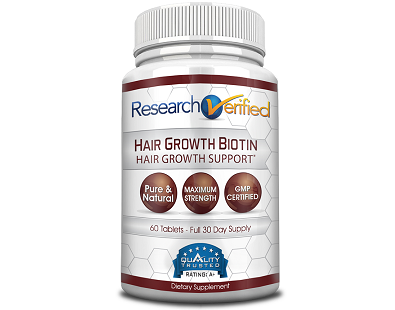 Research Verified Hair Growth Biotin for Hair Growth