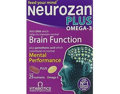 Vitabiotics Neurozan Plus for Brain Booster