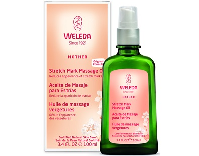 Weleda Stretch Mark Massage Oil for Stretch Mark