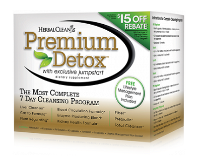B.N.G Herbal Clean Premium Detox 7 Day Kit for Colon Cleanse