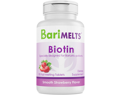 BariMelts Biotin for Hair Growth