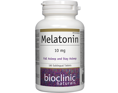 Bioclinic Naturals' Melatonin for Jet Lag