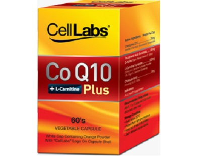 Cell Labs CoQ10 Plus for Health & Well-Being