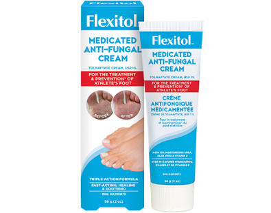 Flexitol Medicated Anti-Fungal Cream for Athlete's Foot
