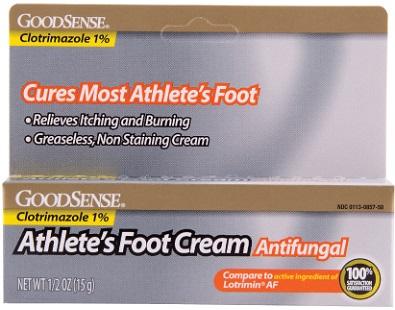 GoodSense Athlete's Foot Cream for Athlete's Foot