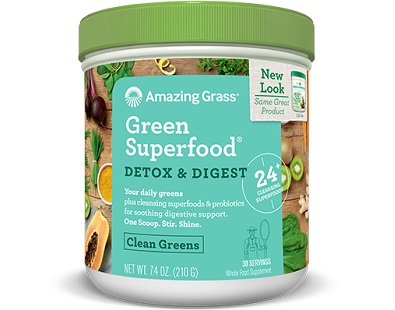 Green SuperFood Detox & Digest for Weight Loss