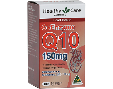 Healthy Care Australia CoEnzyme Q10 for Health & Well-Being