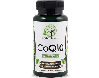 Herbal Forest CoQ10 for Health & Well-Being