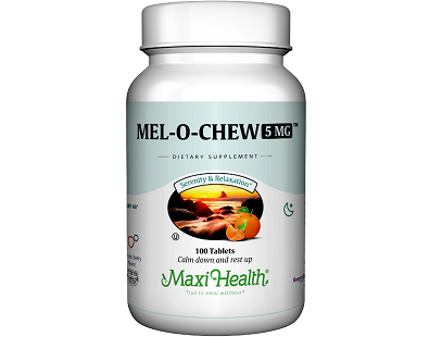 Maxi Health Mel O Chew for Jet Lag