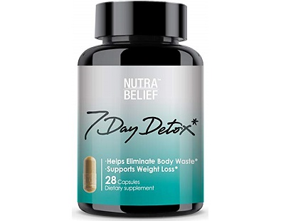 NUTRABELIEF 7 Day Detox for Colon Cleanse