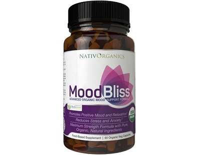 NativOrganics MoodBliss for Anxiety Relief