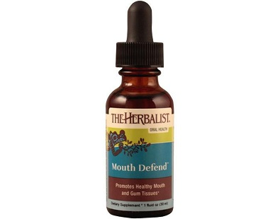 The Herbalist Mouth Defend for Canker Sore Relief