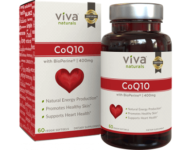 Viva Naturals CoQ10 for Health & Well-Being