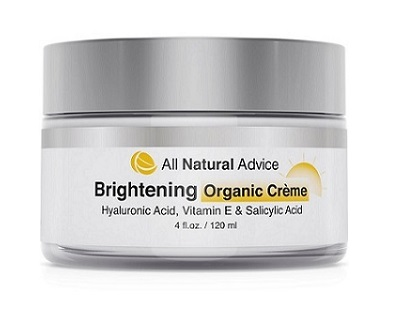 All Natural Advice Brightening Cream for Skin Brightener