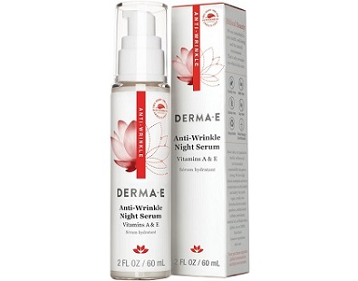 DERMA E Anti-Wrinkle Night Serum for Anti-Aging