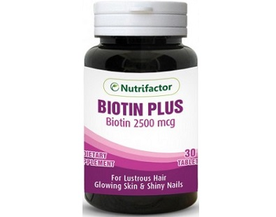 Nutrifactor Biotin Plus for Hair Growth
