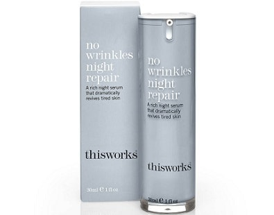 This Works No Wrinkles Night Repair Serum for Anti-Aging