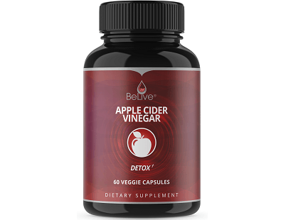 Belive Apple Cider Vinegar for Health & Well-Being