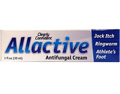 Clearly Confident Allactive Antifungal Cream for Ringworm Treatment