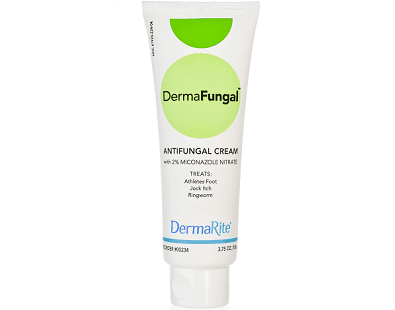 DermaRite DermaFungal Antifungal Cream for Ringworm Treatment