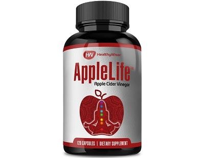 HealthyWiser AppleLife Apple Cider Vinegar for Health & Well-Being