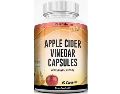 Peachlife Inc Apple Cider Vinegar for Health & Well-Being