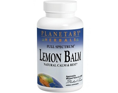 Planetary Herbals Full Spectrum Lemon Balm for Insomnia