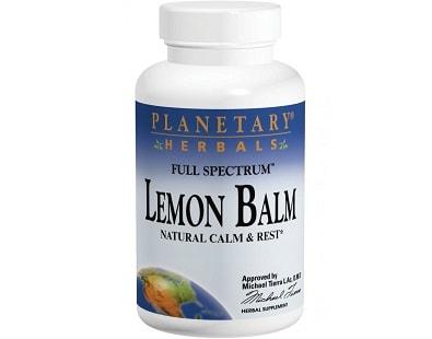 Planetary Herbals Full Spectrum Lemon Balm for Insomnia