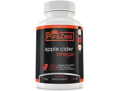 PuraZest Apple Cider Vinegar for Health & Well-Being
