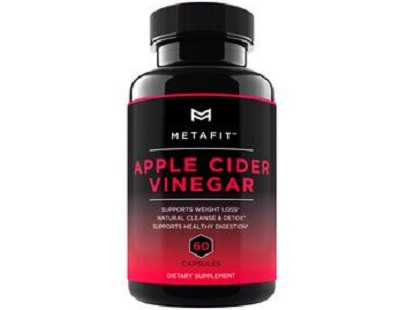 Metafit Apple Cider Vinegar for Health & Well-Being